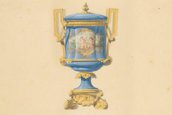 Design for an Urn, 19th century