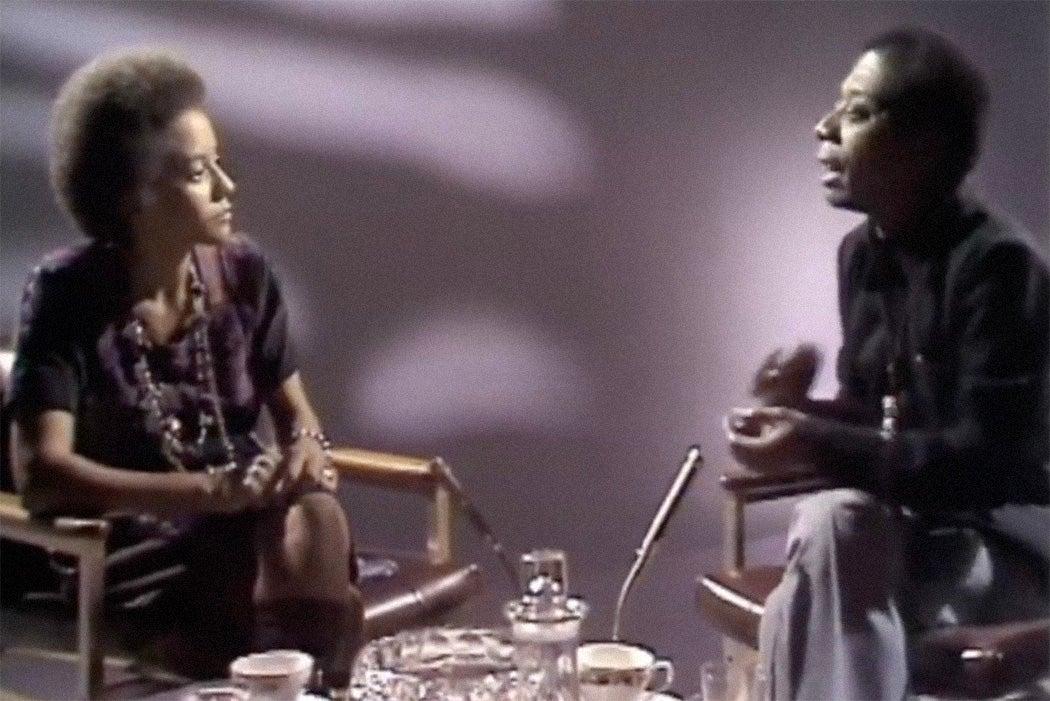 James Baldwin and Nikki Giovanni on SOUL!, 1971