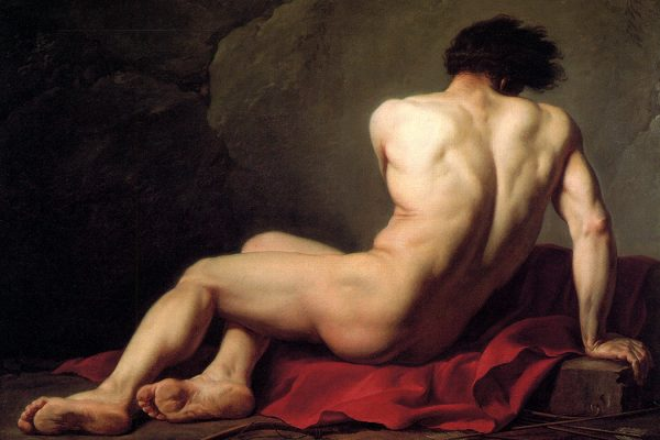 Patrocle by Jacques-Louis David