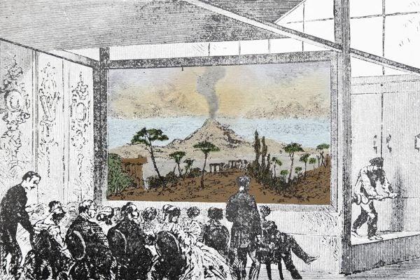 Daguerre's diorama