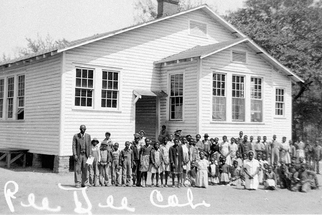 Pee Dee Rosenwald School, Marion County, South Carolina, c. 1935.