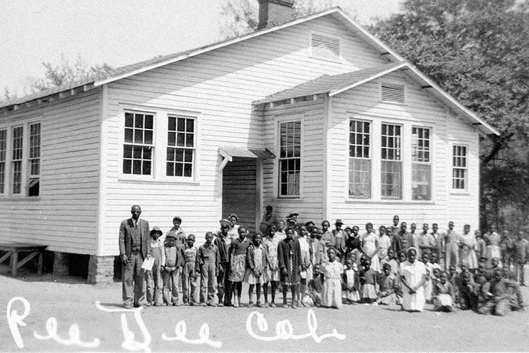 Pee Dee Rosenwald School, Marion County, South Carolina, c. 1935.