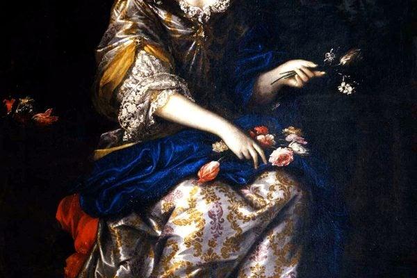 from Anna Maria Luisa de' Medici by Antonio Franchi