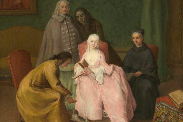 The Visit, 1746, Pietro Longhi