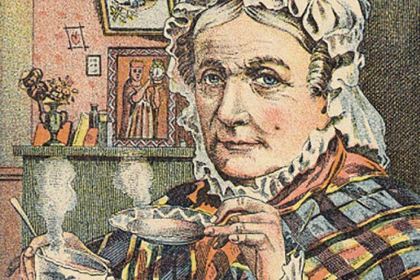 A Victorian tea advertisement
