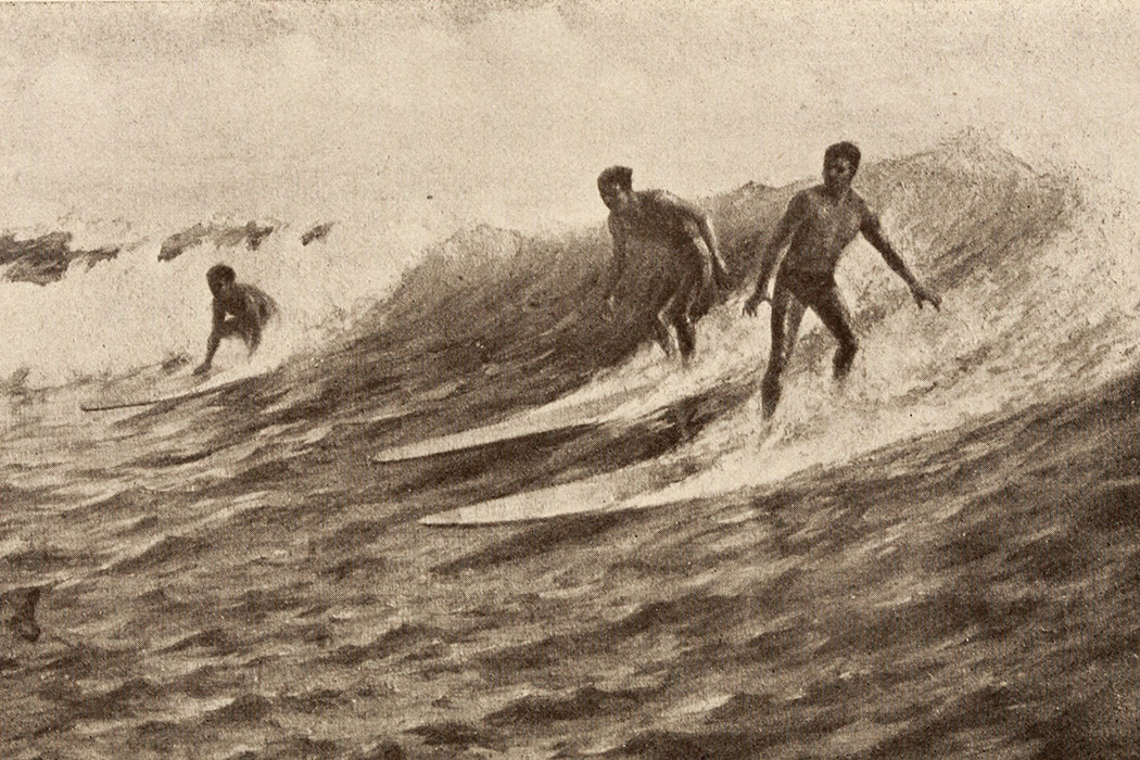 Le Passage des Brisants à Hawaï