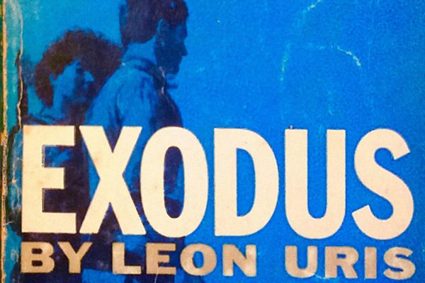 The cover of Exodus by Leon Uris