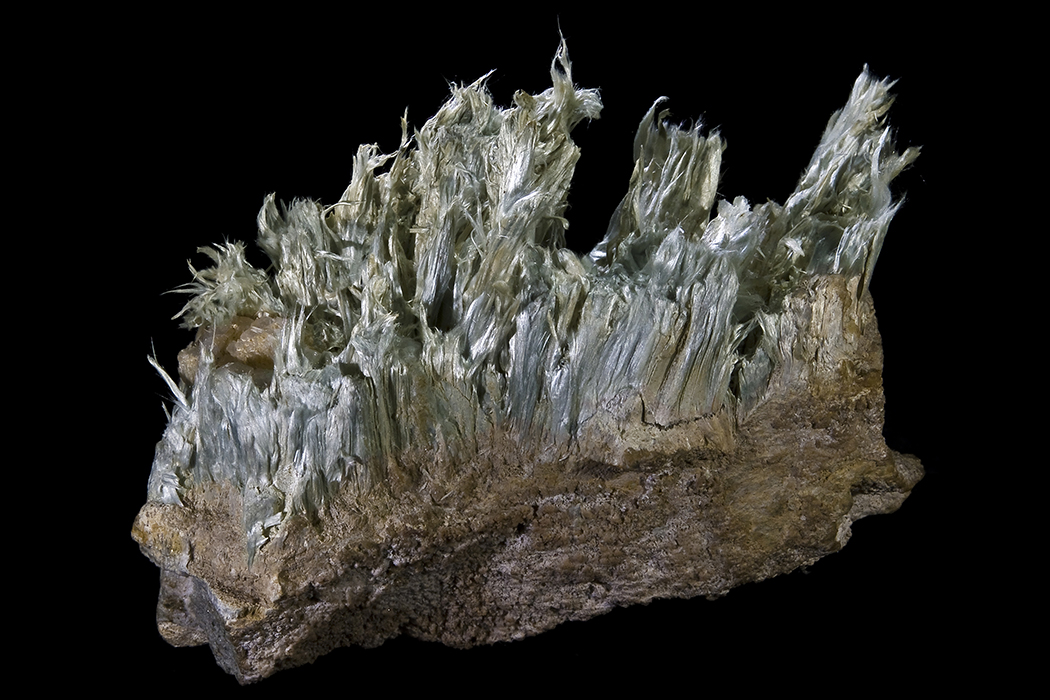 Tremolite asbestos from the Aure Valley, French Pyrenees