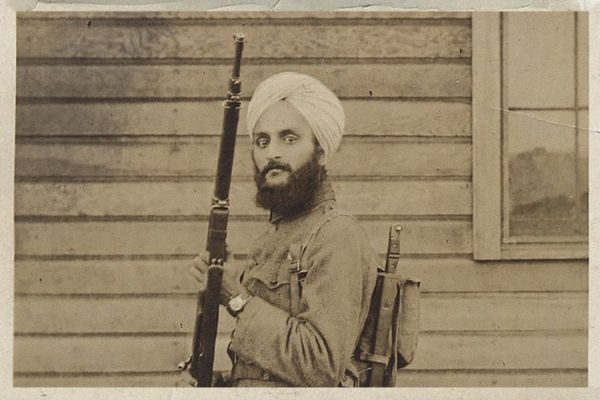 Bhagat Singh Thind in his U.S. Army Uniform, 1918