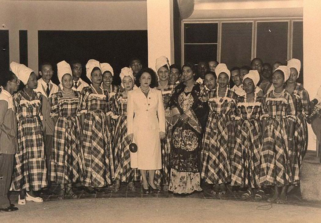 Marian Anderson in Haiti