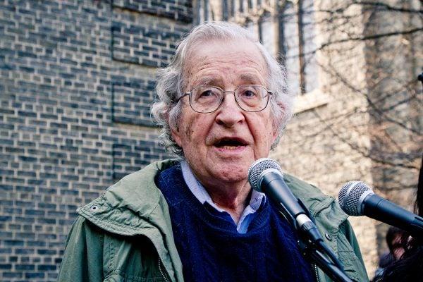 Noam Chomsky in Toronto, 2011