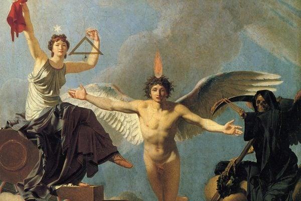 La Liberté ou la Mort by Jean-Baptiste Regnault