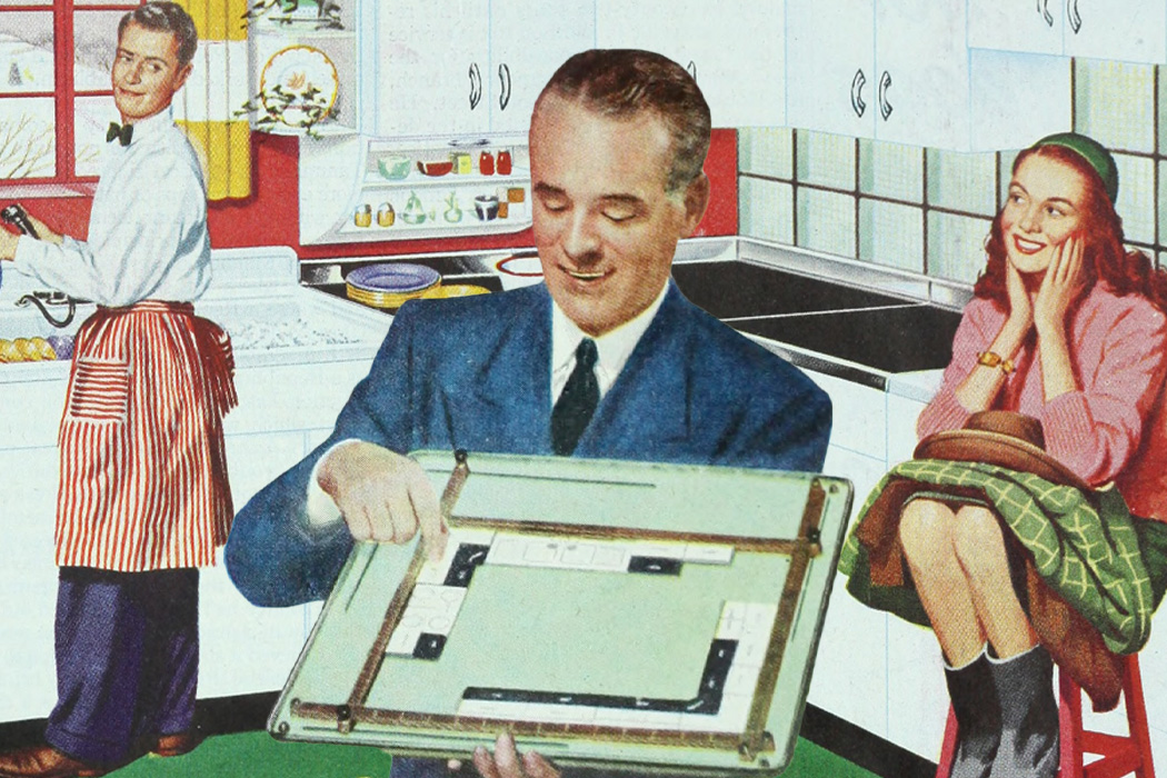 An advertisement for an American Kitchen Plan-a-Kit