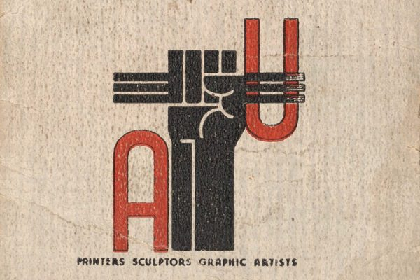 Harry Gottlieb's Artists' Union membership card, 1935