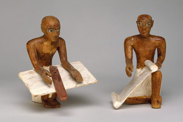 Scribes from Meketre's Model Granary ca. 1981–1975 B.C.
