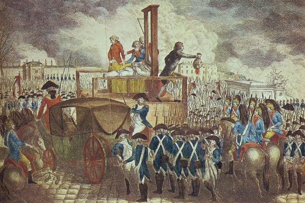 Execution of Louis XVI, 1793