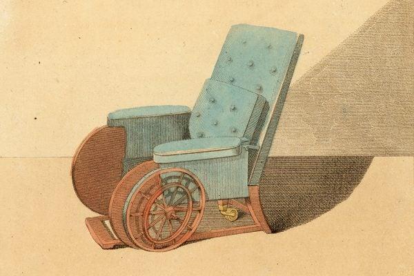An early nineteenth century wheelchair