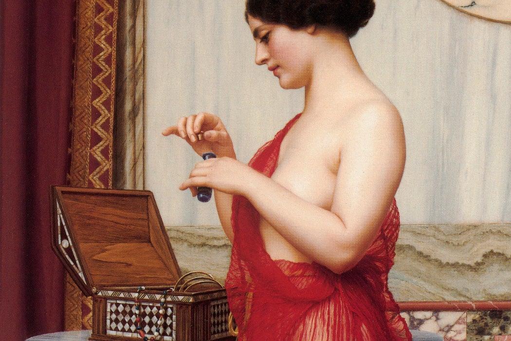 The New Perfume by John William Godward, 1914