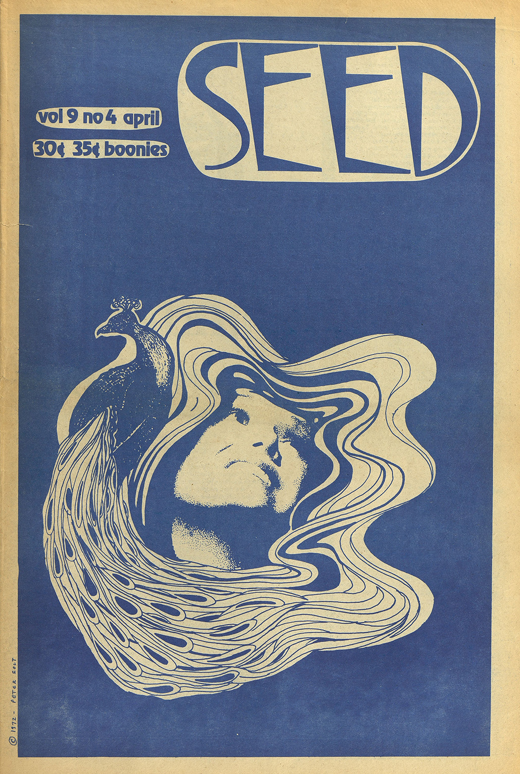 Cover of The Seed, April 1973