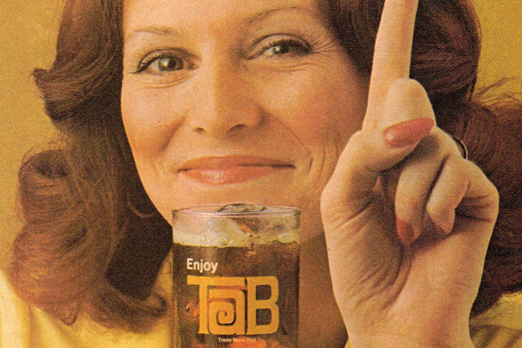 An ad for Tab from 1975