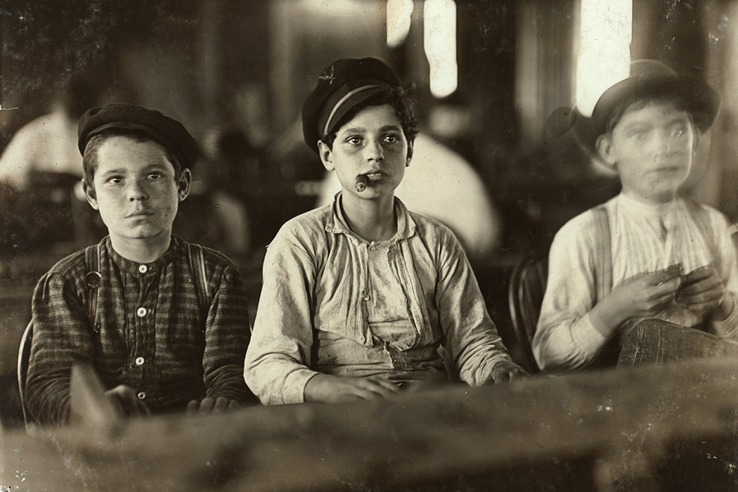 Cigarmakers, Tampa, Florida, 1909 by Lewis Hine