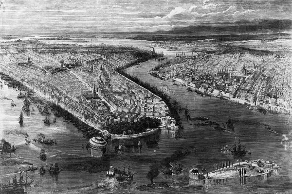 New York, 1855