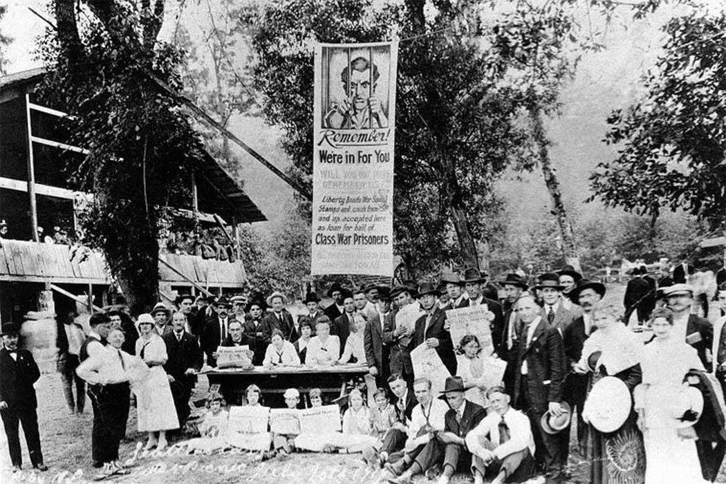 I.W.W. Picnic, July 1919, Seattle, Washington.