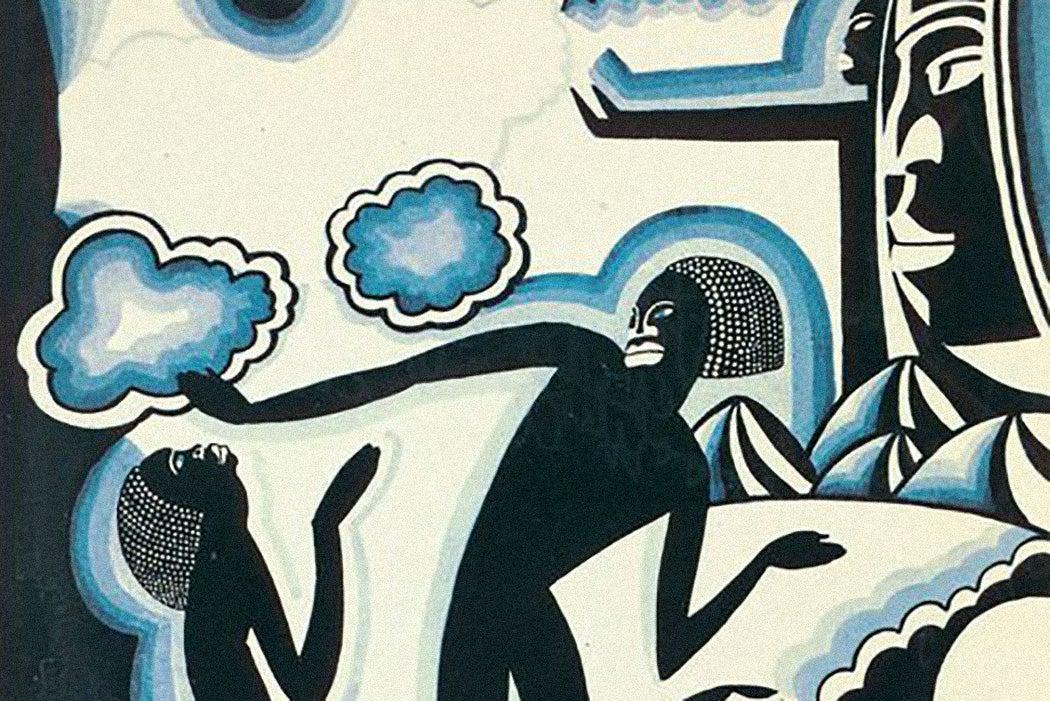 African Phantasy : Awakening by Winold Reiss