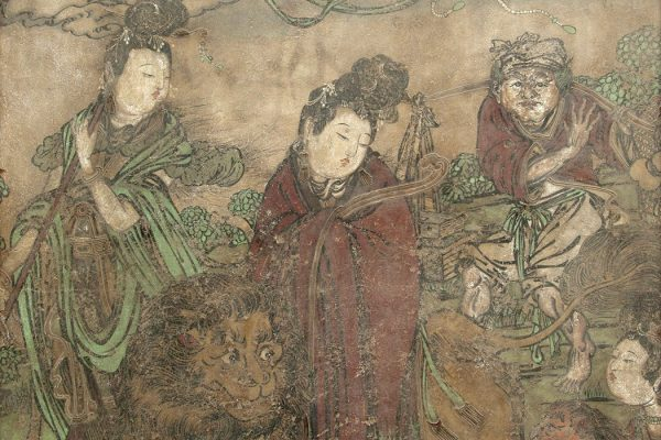 Kuan Yin and Attendants, 1368