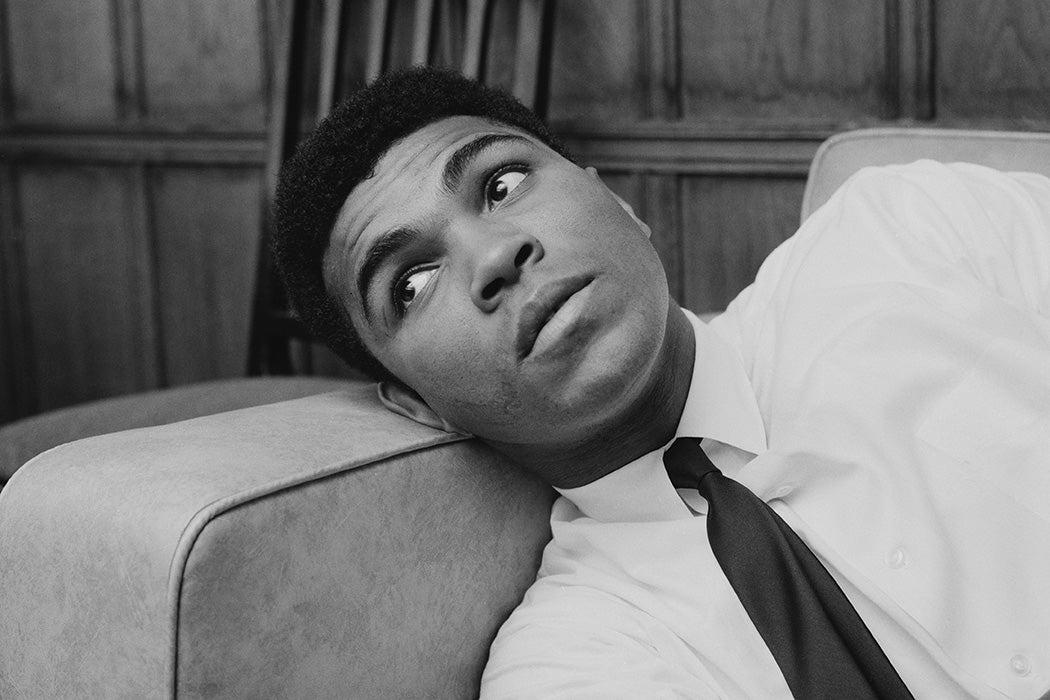 Photograph: Muhammad Ali, 1966  Source: Getty