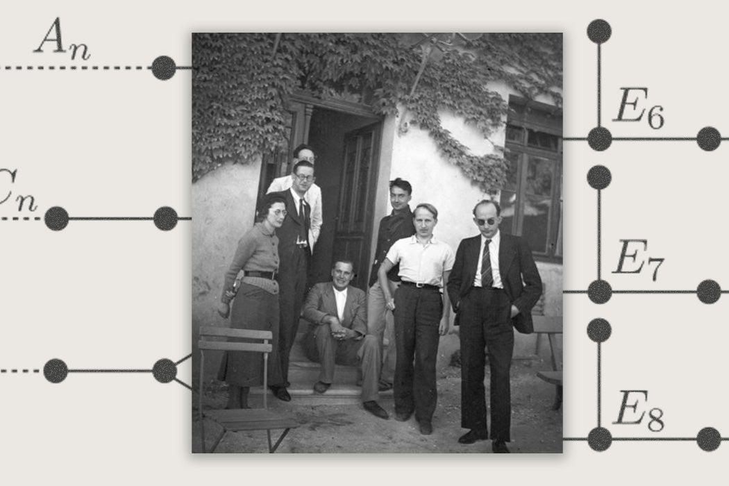 Photo taken in the Bourbaki Congress of 1938 in Dieulefit