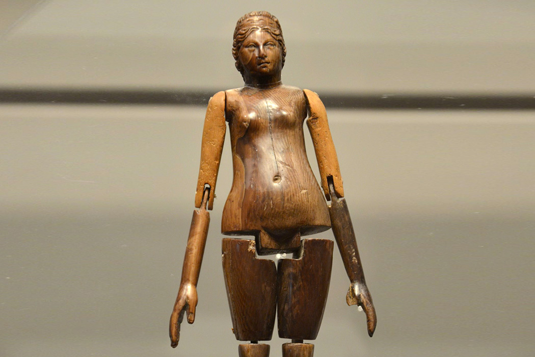 Roman ivory doll from the mid-2nd century AD