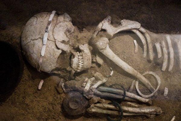Sofia, a skeleton from the Durankulak Necropolis