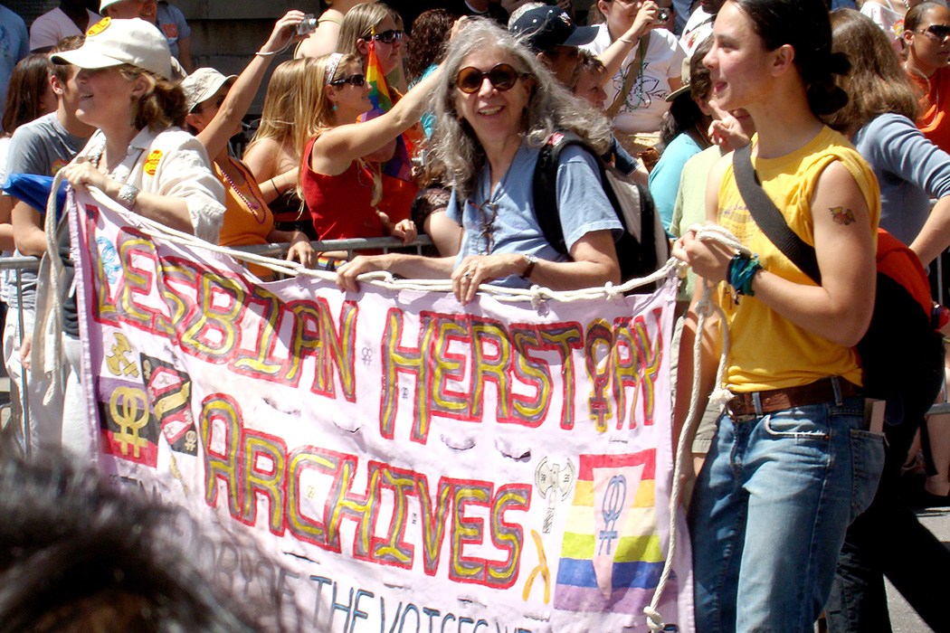 The Lesbian Herstory Archives at Gay Pride, 2007