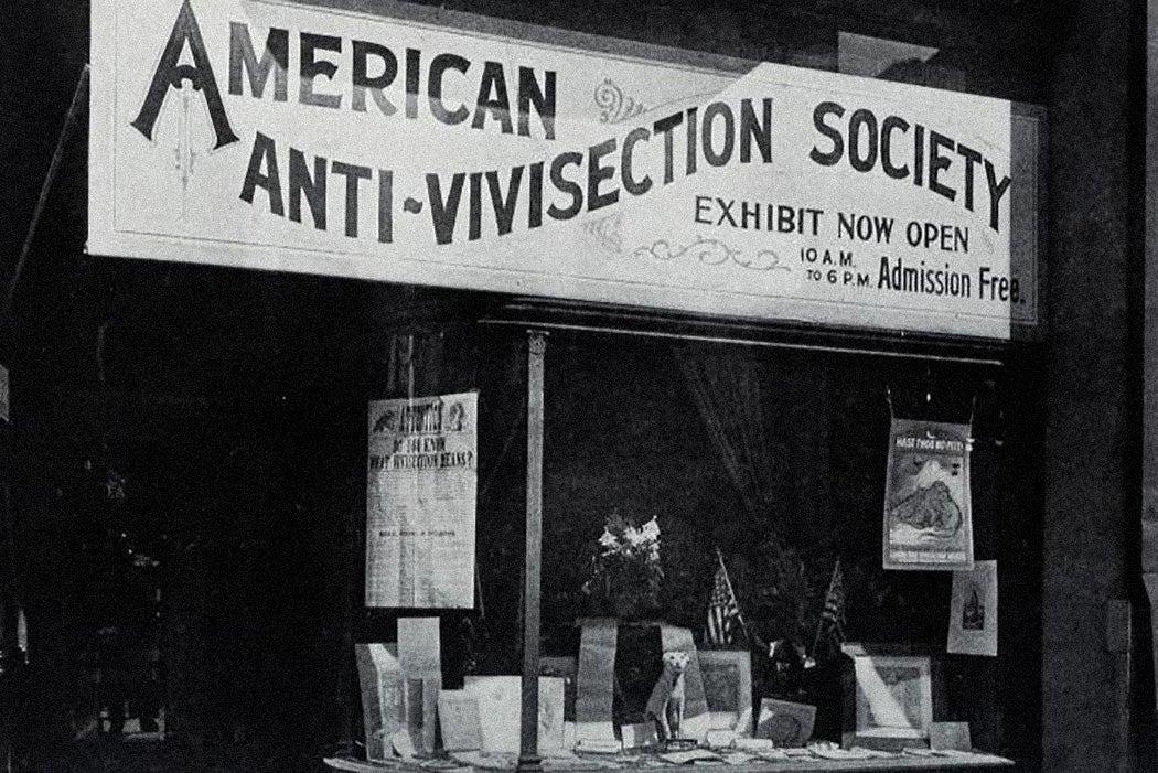 American Anti-Vivisection Society 1909