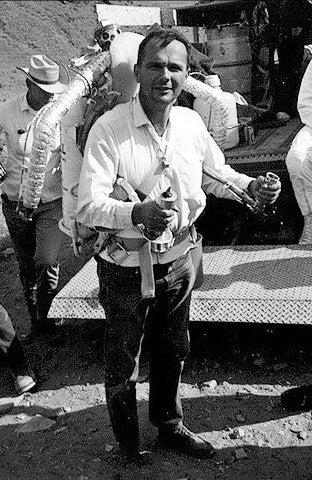 Gene shoemaker with the Bell Rocket Belt