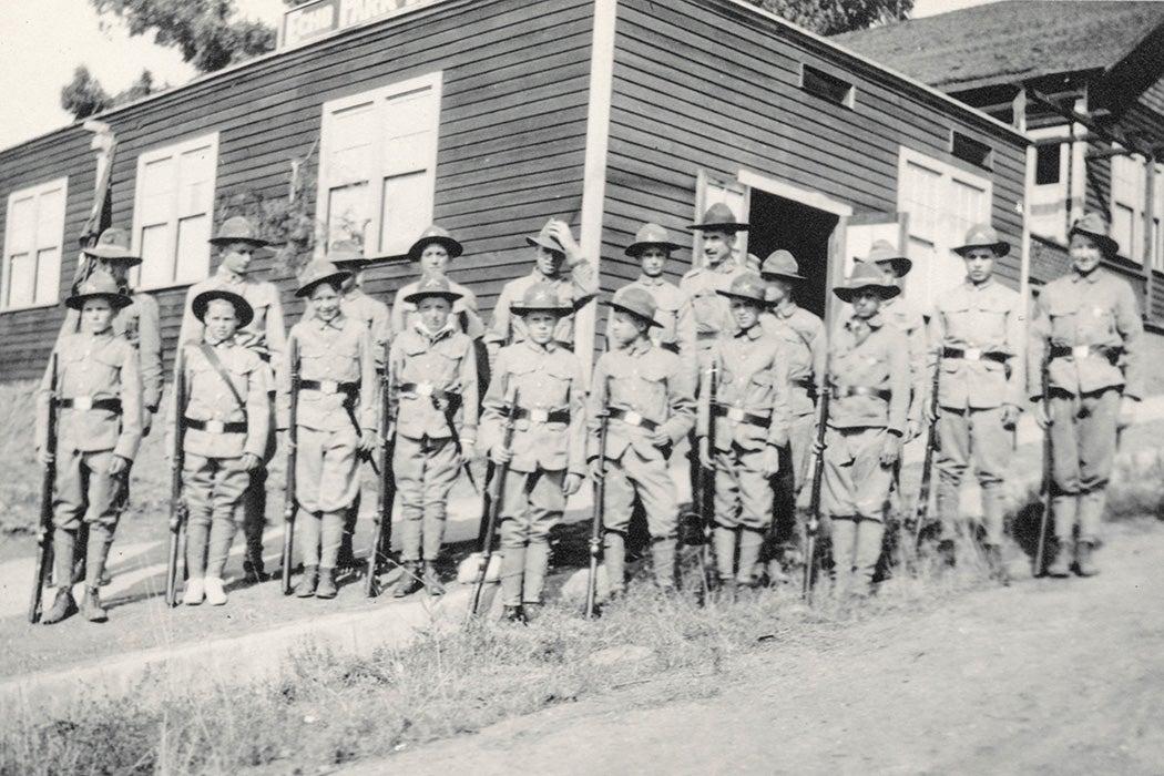 Boy scouts in CA, 1915