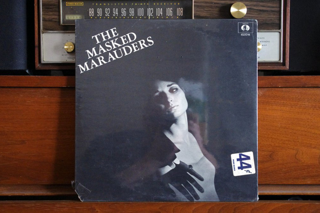 The cover of an album by the Masked Marauders