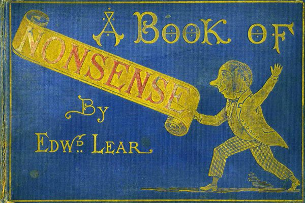 Cover for A Book of Nonsense by Edward Lear, c. 1875