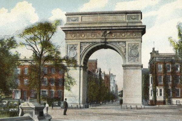 Washington Arch, New York, 1907
