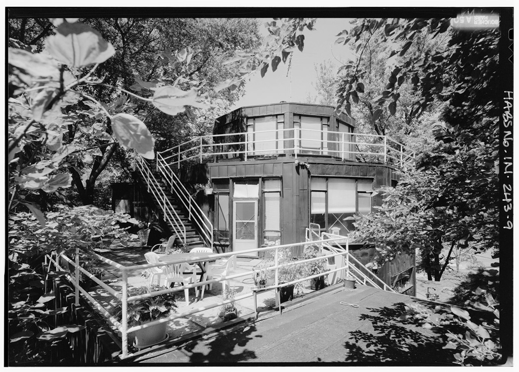 House of Tomorrow, 241 Lake Front Drive (moved from Chicago, IL), Beverly Shores, Porter County, IN