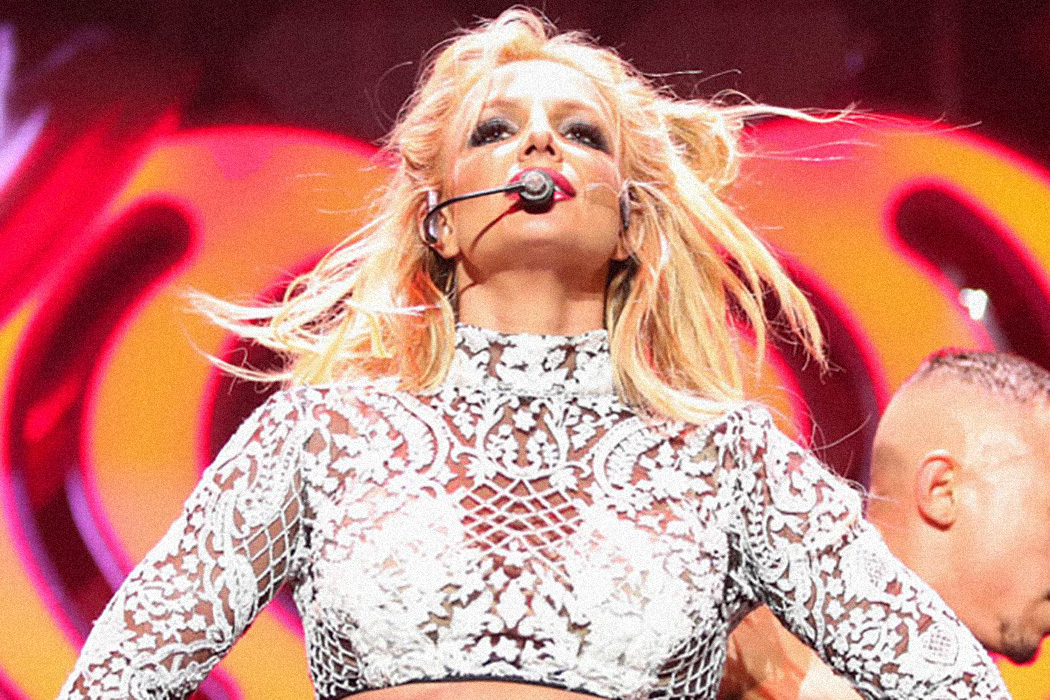 Photograph: Britney Spears performs at the 102.7 KIIS FM's Jingle Ball 2016 on December 02, 2016 in Los Angeles  Source: Christopher Polk/Getty