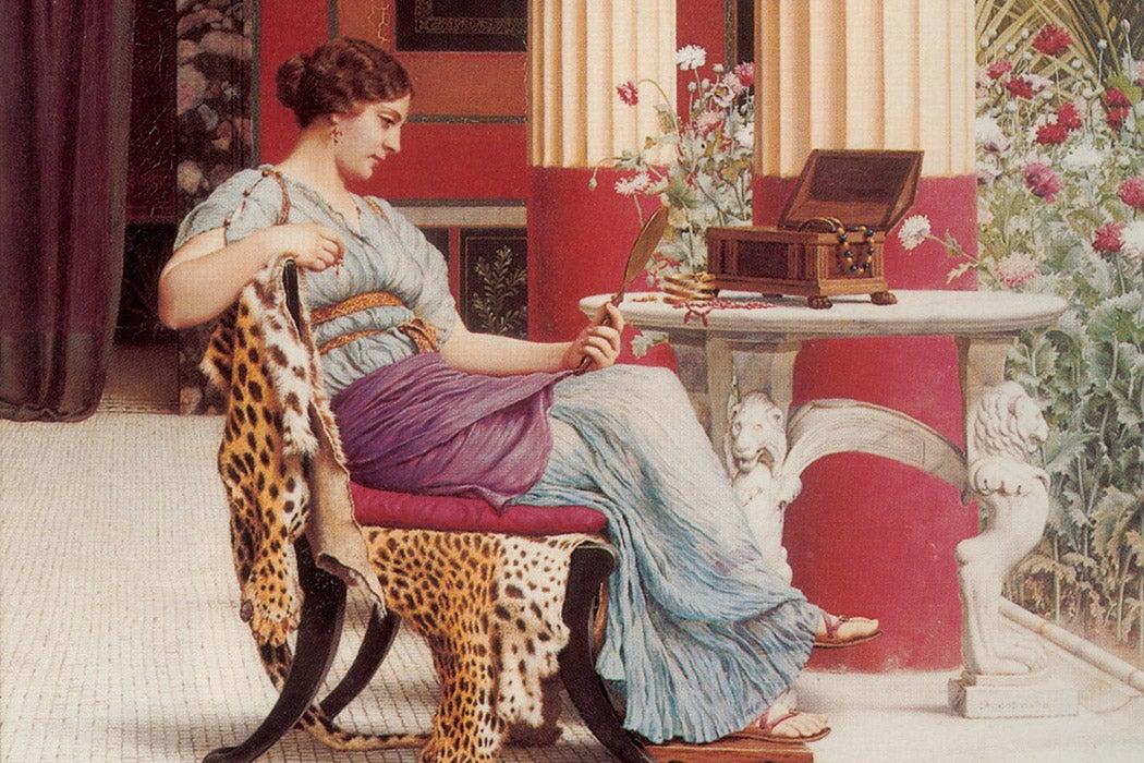 The Jewel Casket by John William Godward