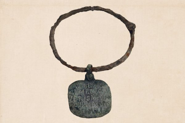 Ancient Roman slave-collar