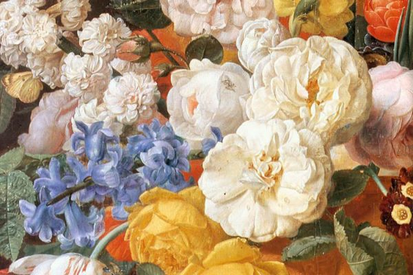from Bouquet of Flowers in a Sculpted Vase by Jan Frans Eliaerts