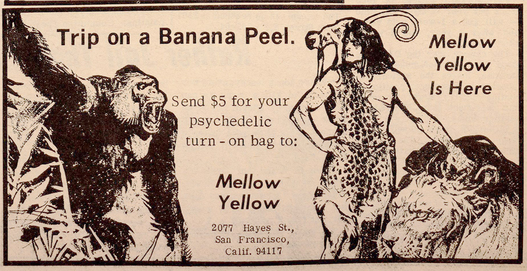 From page 4 of the April 7, 1967 issue of Berkeley Barb