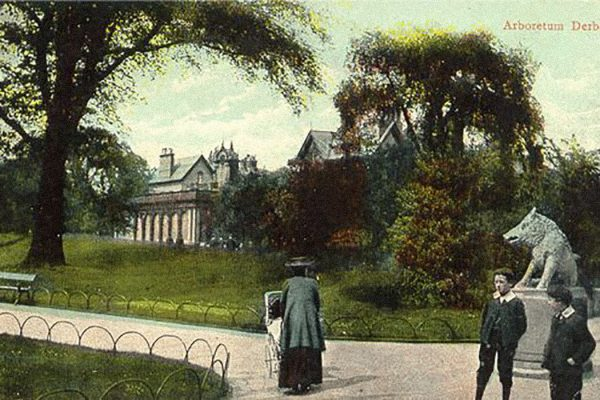 A postcard for the Derby Arboretum