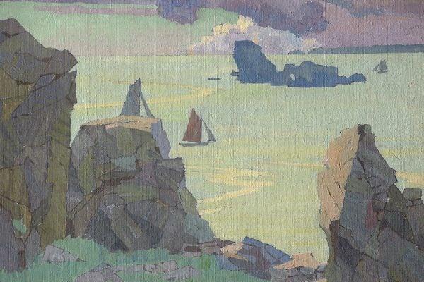 Finistère by Rhona Haszard, 1926