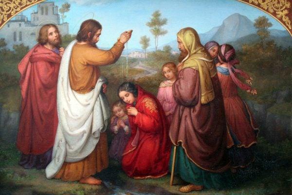 Baptism of Lydia by Marie Ellenrieder, 1861