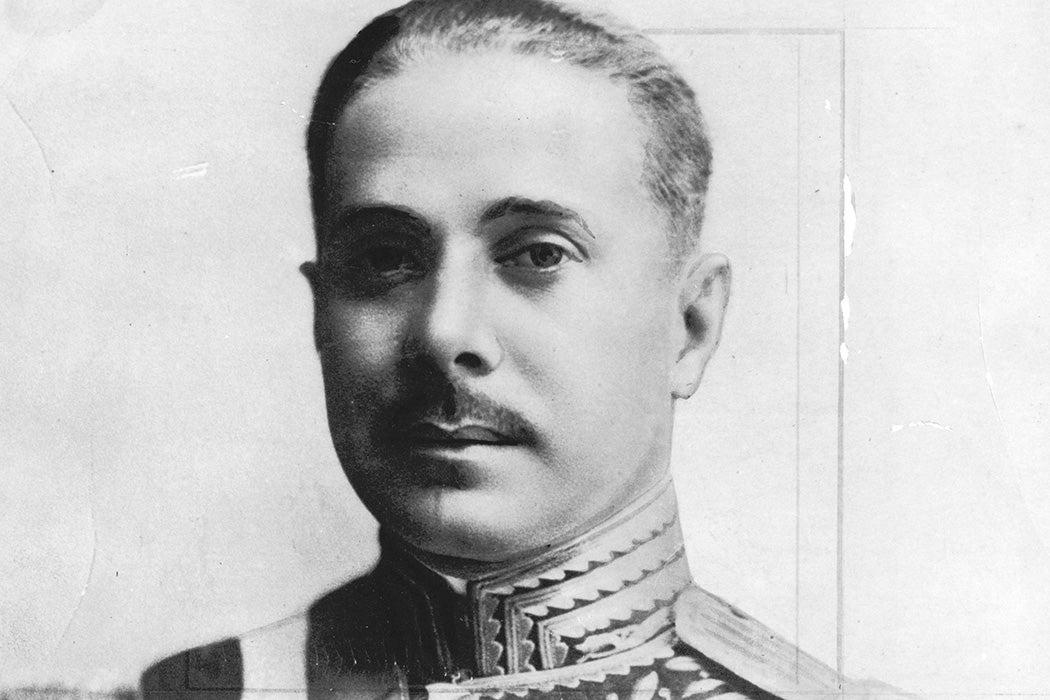 Portrait of Dominican Republic dictator Rafael Trujillo